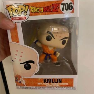 Funko Pop! Animation Dragonball Z Krillin Figure